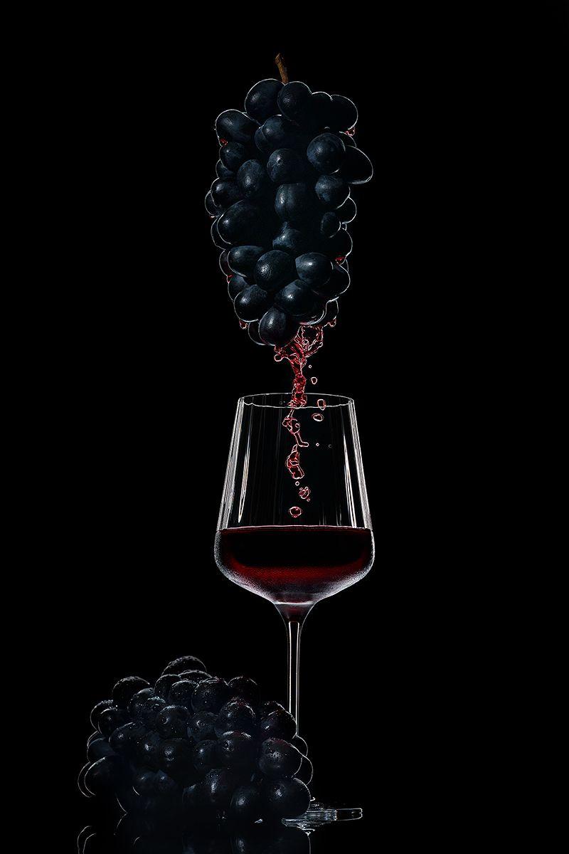 вино, виноград, красное, напиток, предметка, Ольга ЯR