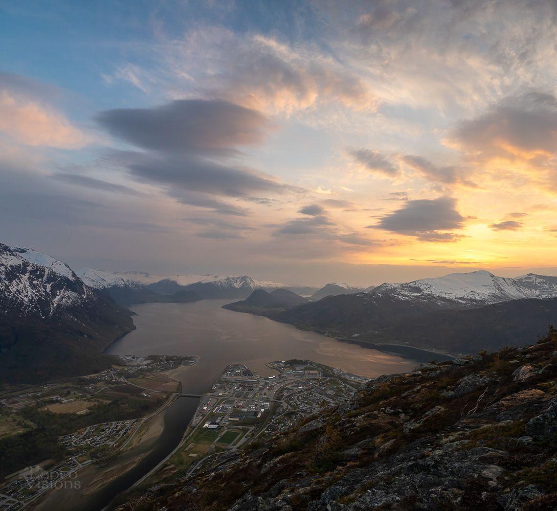 norway,romsdal,mountains,seascape,norwegian,sunset,, Szatewicz Adrian