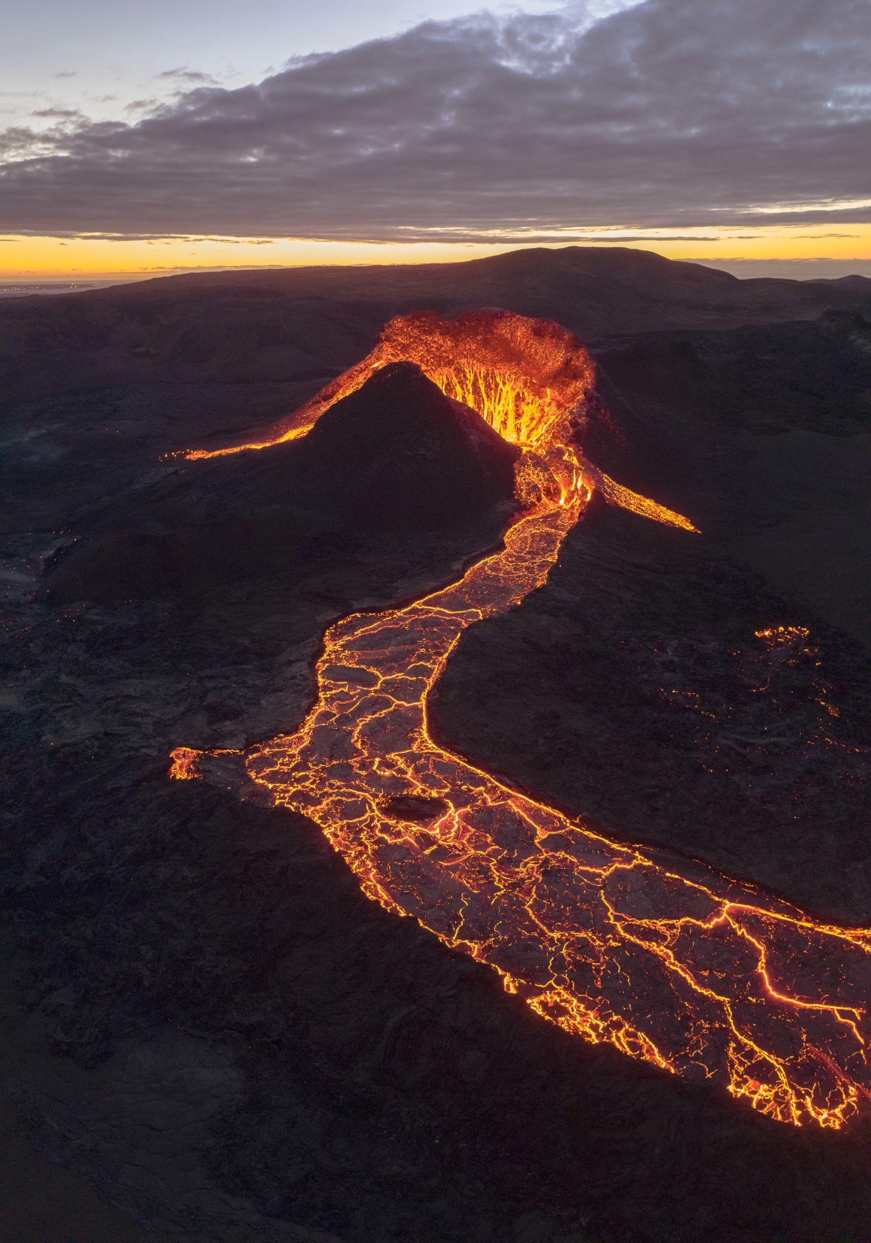 аэрофотосъёмка,кратер,извержение,вулкан, Stepanov Ruslan