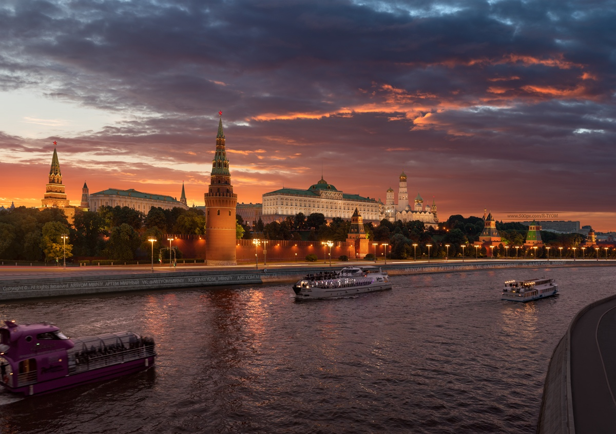 москва, артем мирный, moscow, artyom mirniy, kremlin, кремль, небо, башни, art, hdr, cityscape, Мирный Артём
