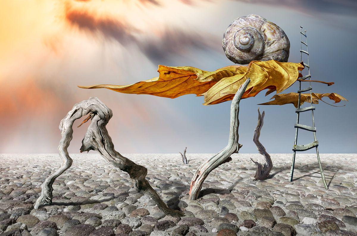 conceptual experiment abstract imaginary national scenery, Александров Александър