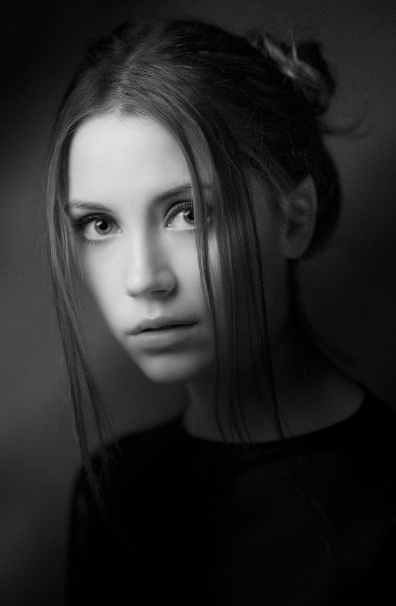 портрет;ч/б, Александр Демин