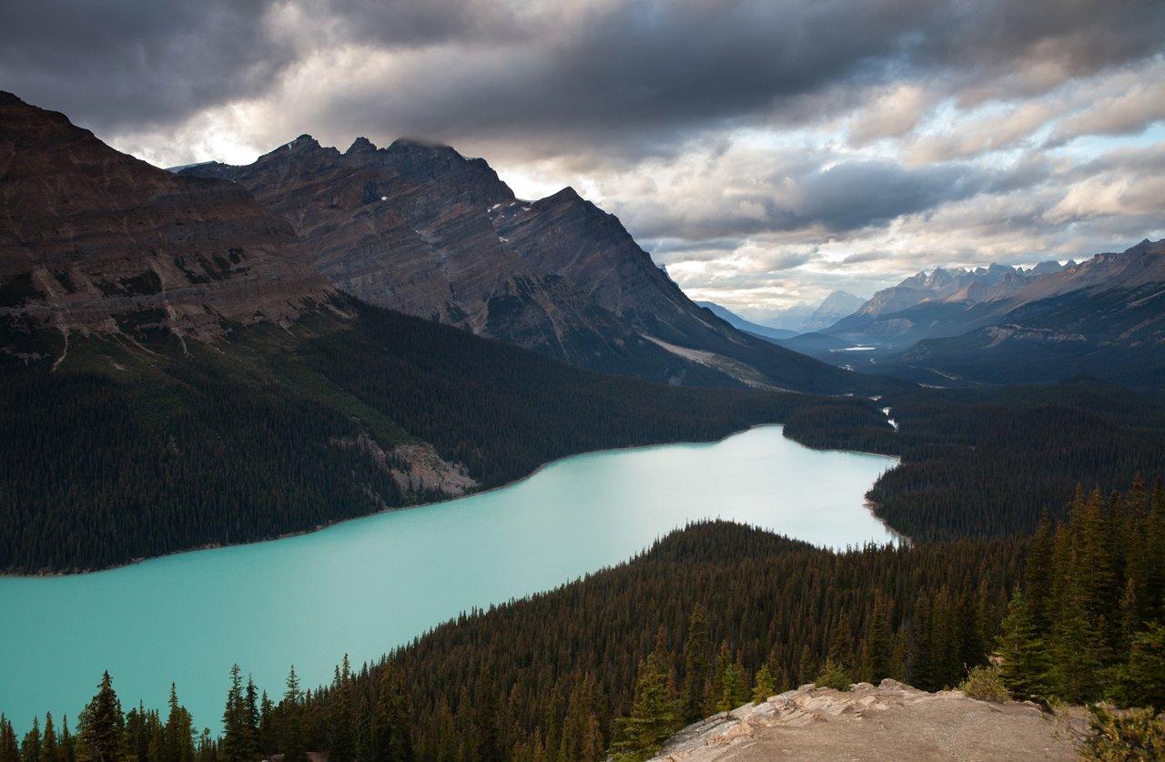 Canada, Lake, Mountains, Алексей Самарин
