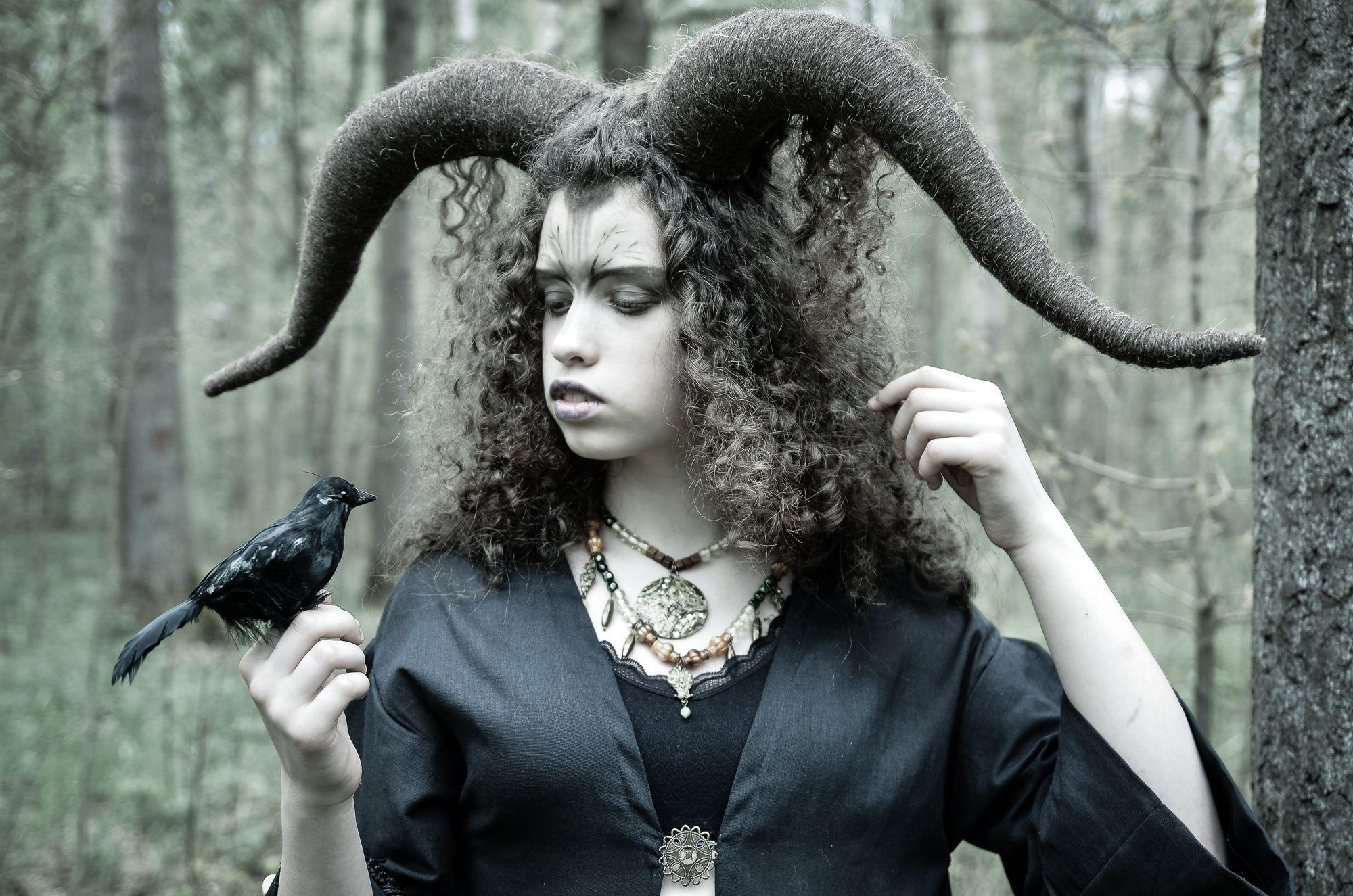 портрет, девушка, лес, постановочная фотография,, Верещако Валерий