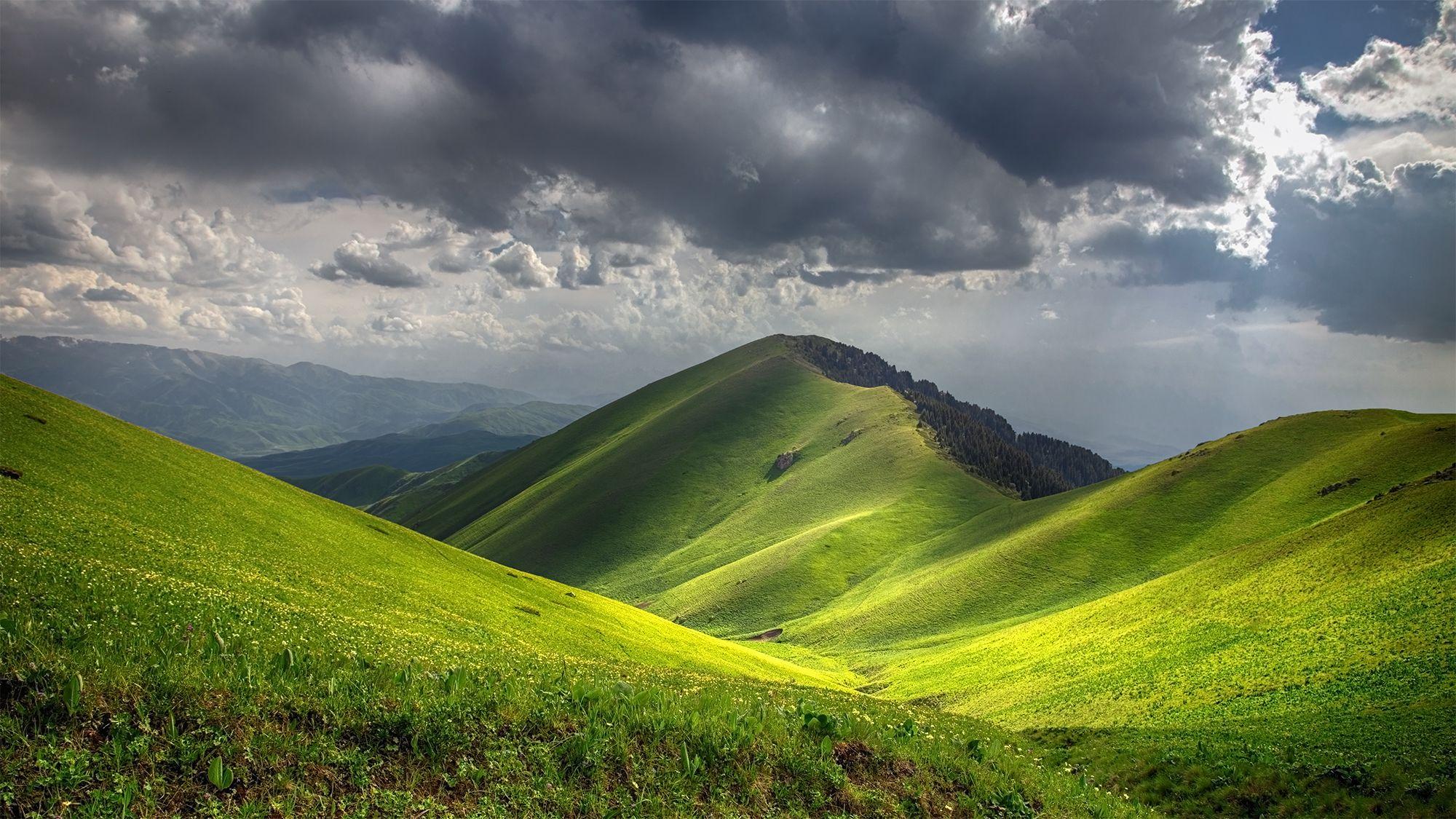 кыргызстан, горы, Магалимова Элина