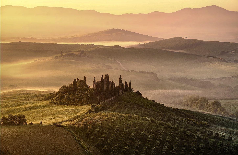 #tuscany, #late, afternoon, #landscape, #nature, Seo Jo sek