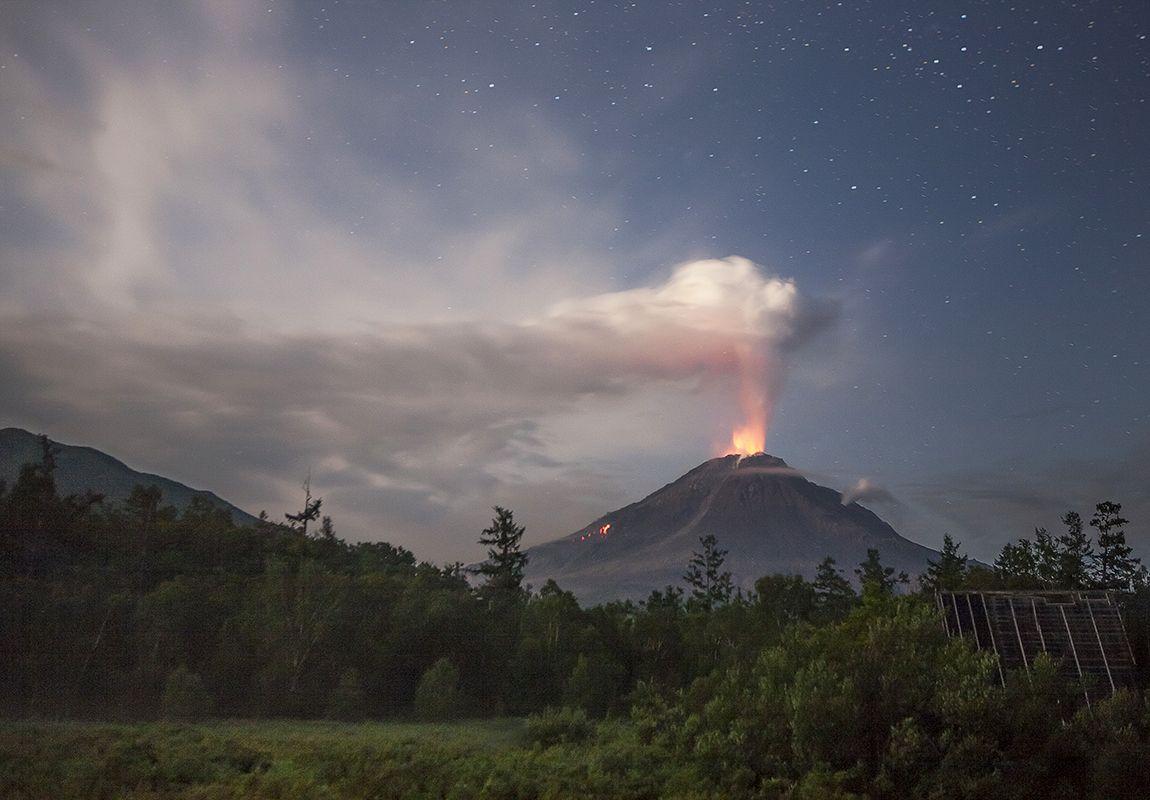 камчатка, вулкан, кизимен, Николай Ушаков (Graff)