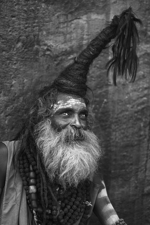 sadhu baba, the holy men, varanasi, india, Chin Boon Leng