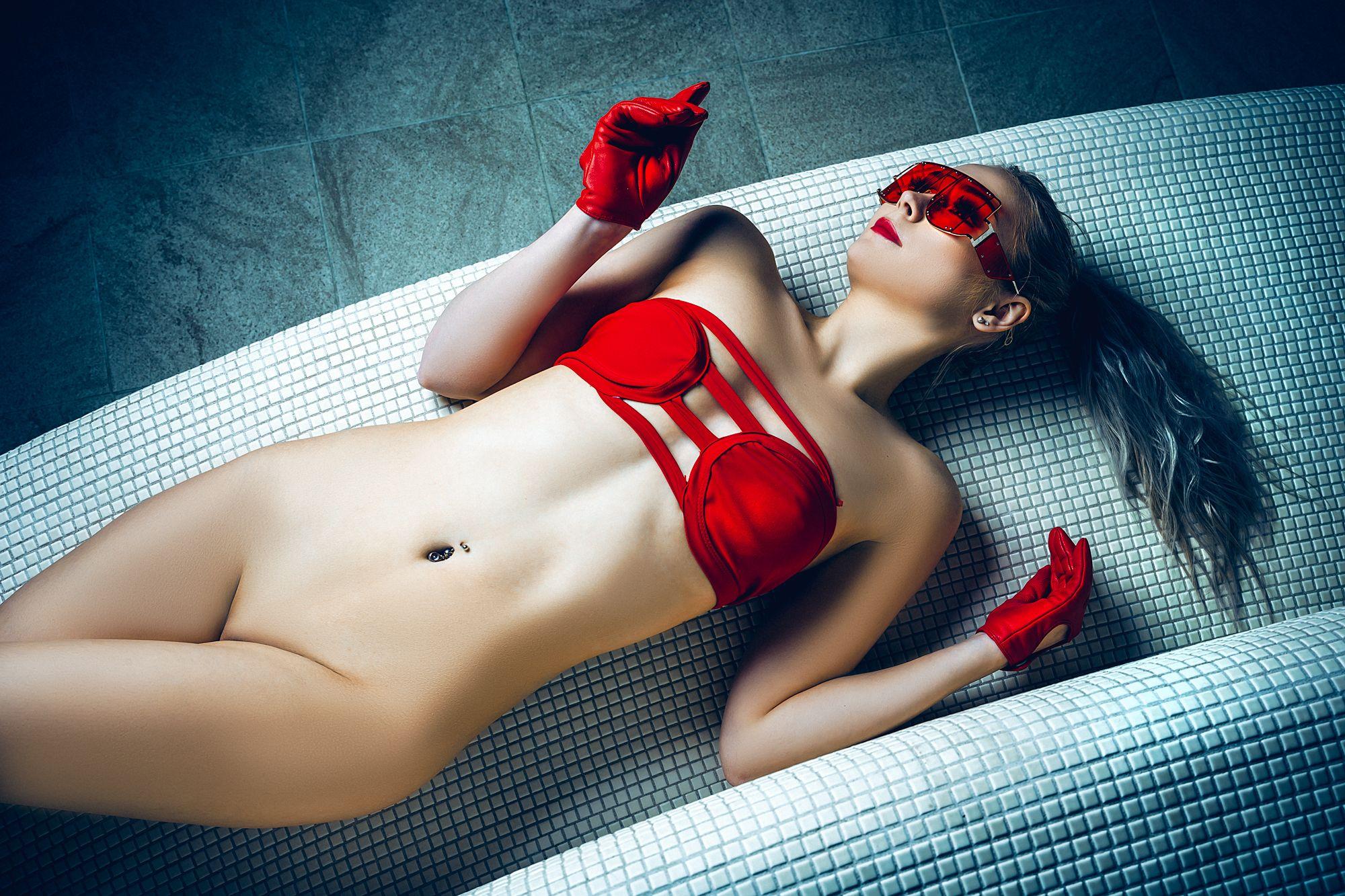 woman, portrait, nude, indoors, beauty, fashion, Руслан Болгов (Axe)