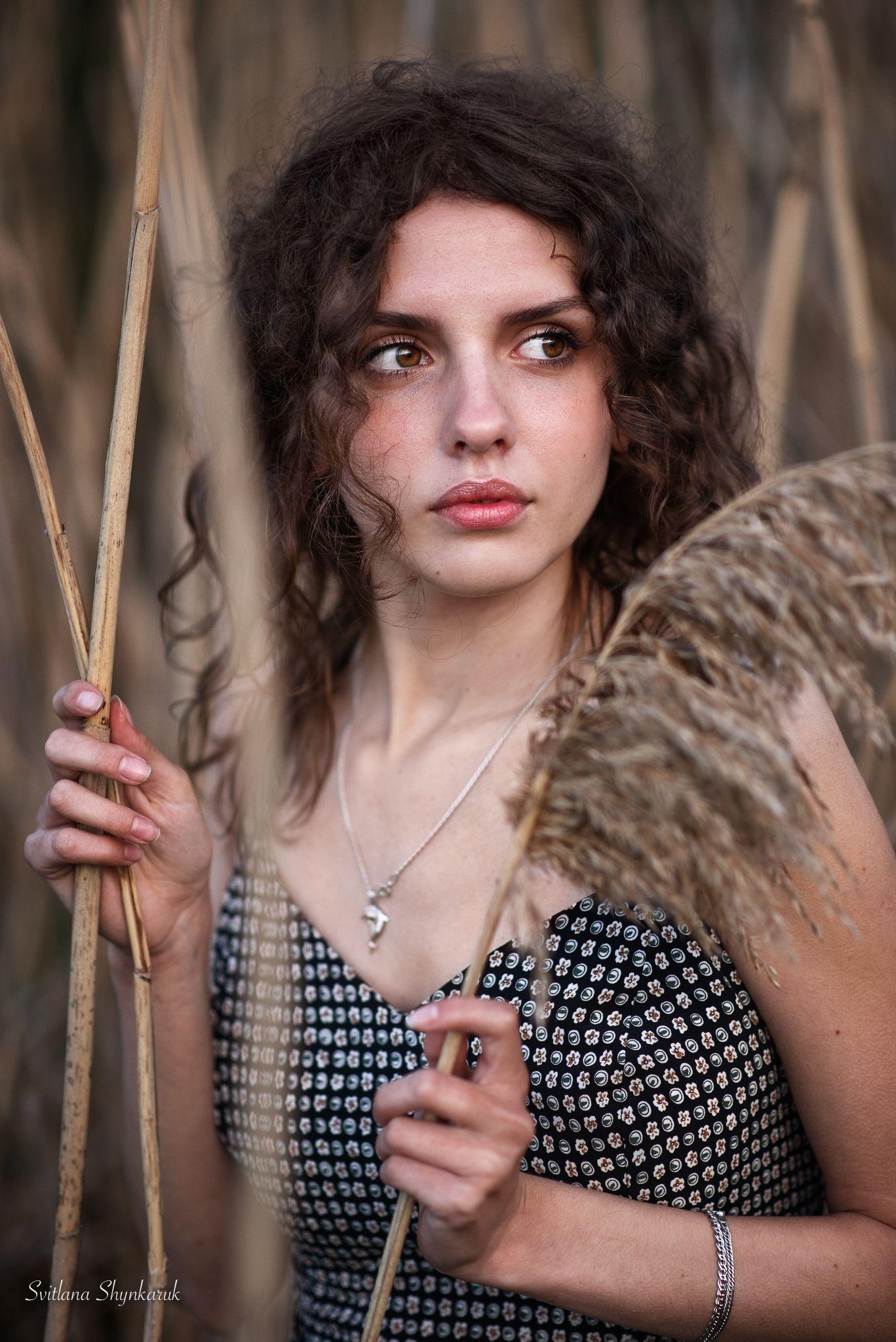 portrait, fragile, natural beauty, female portrait, Шинкарук Светлана