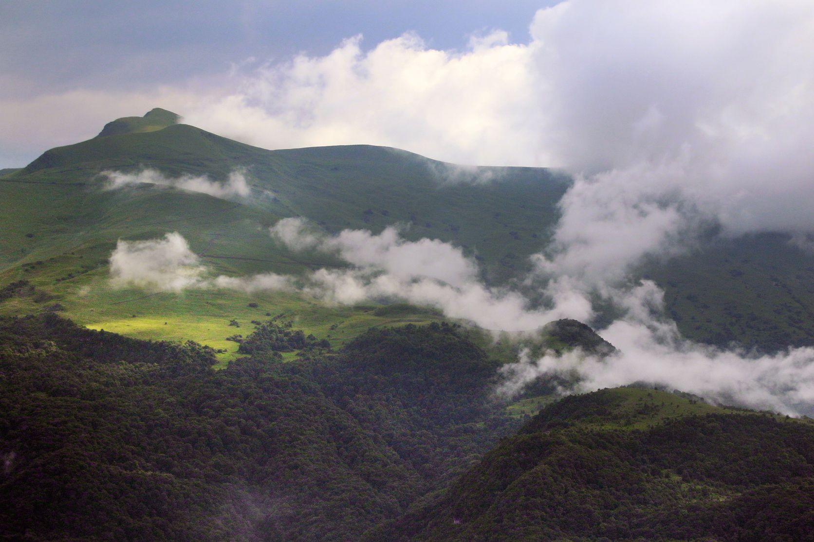горы,вершины,пейзаж,небо,деревья,дагестан,природа, Magov Marat