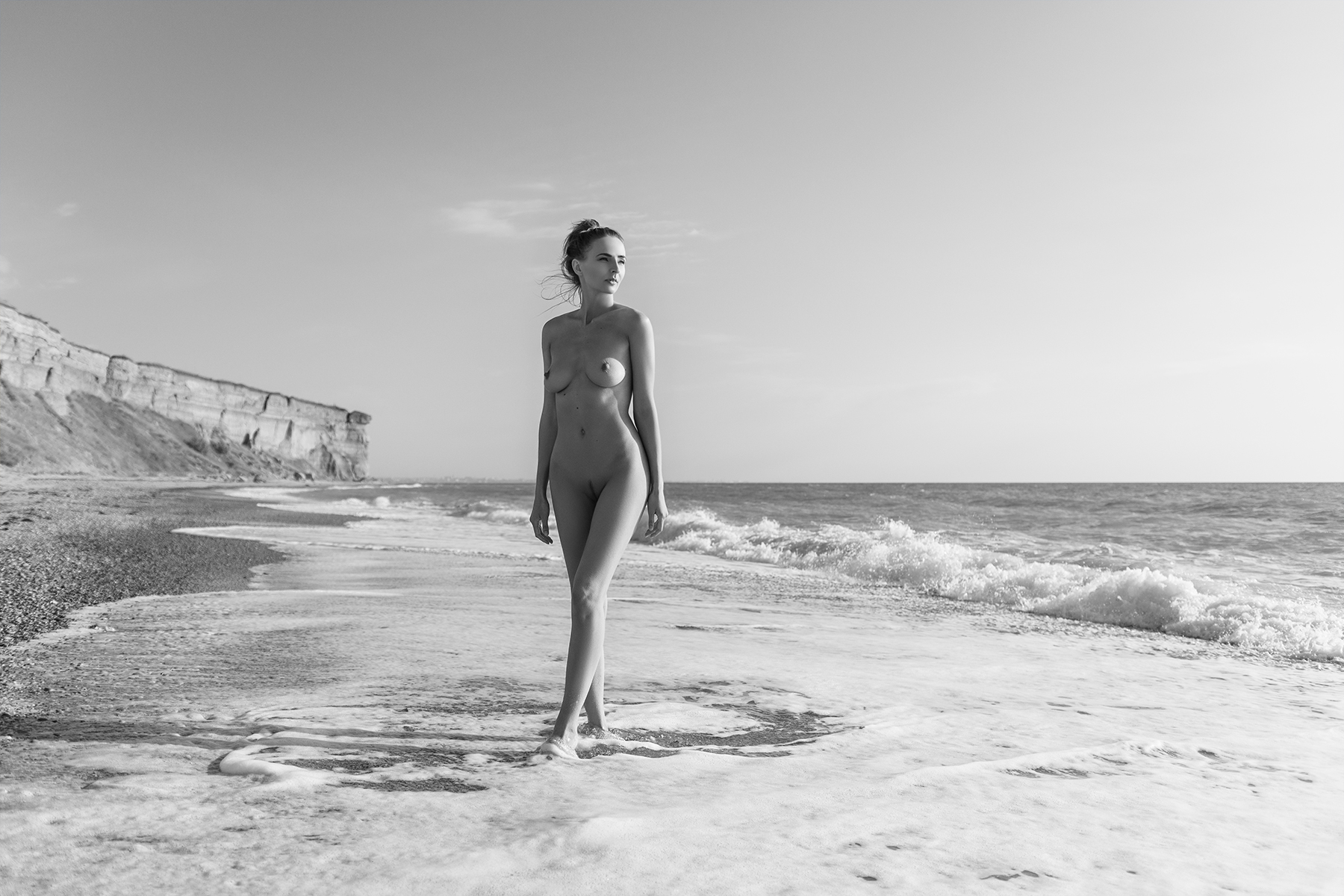 nude,b&w,девушка,ню,model,ч/б, Давыдов Юрий