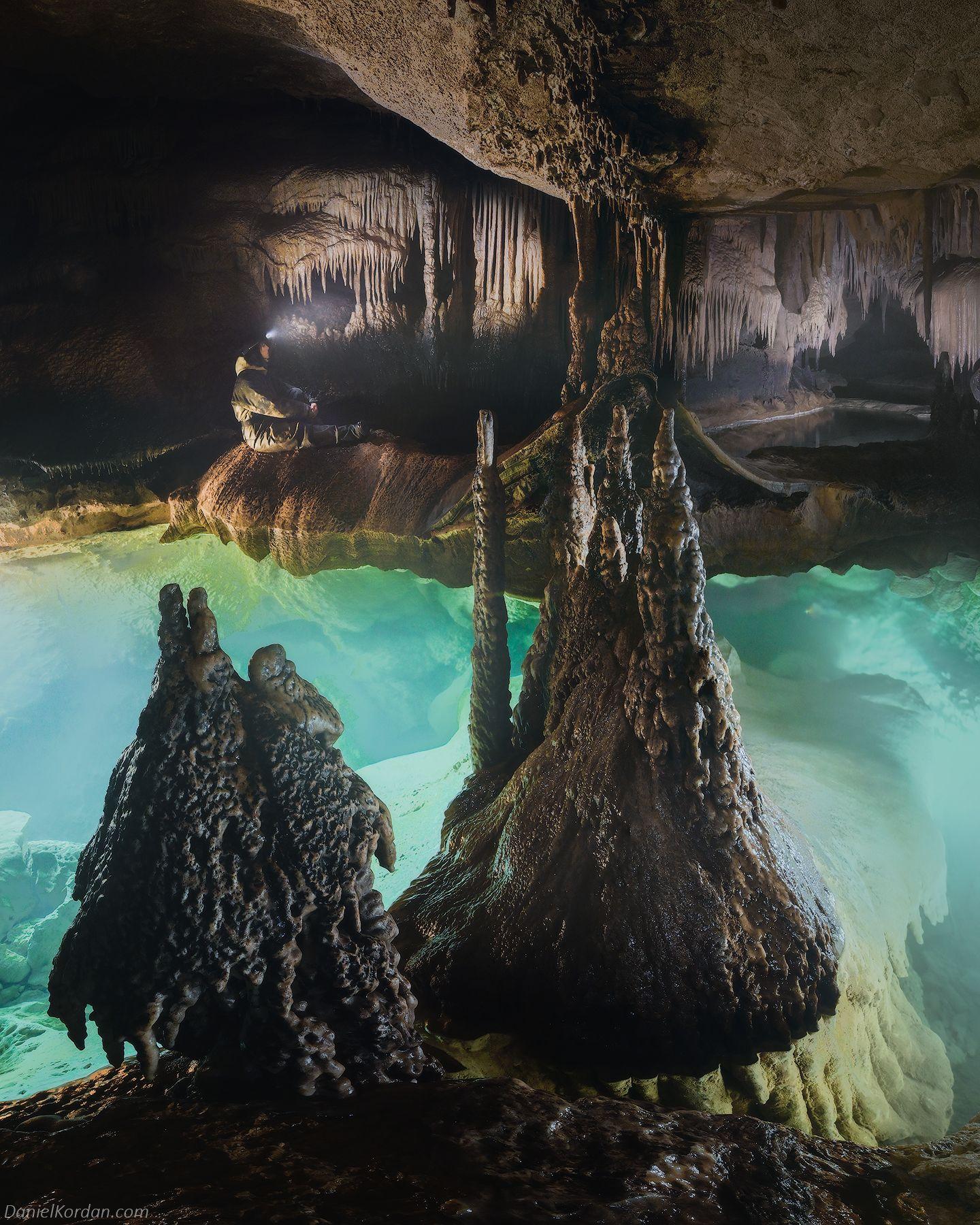Крым, Красная пещера, Даниил Коржонов