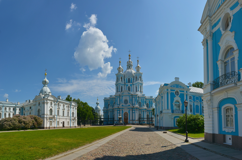 санкт-петербург, смольный монастырь, растрелли, Сергей Седов