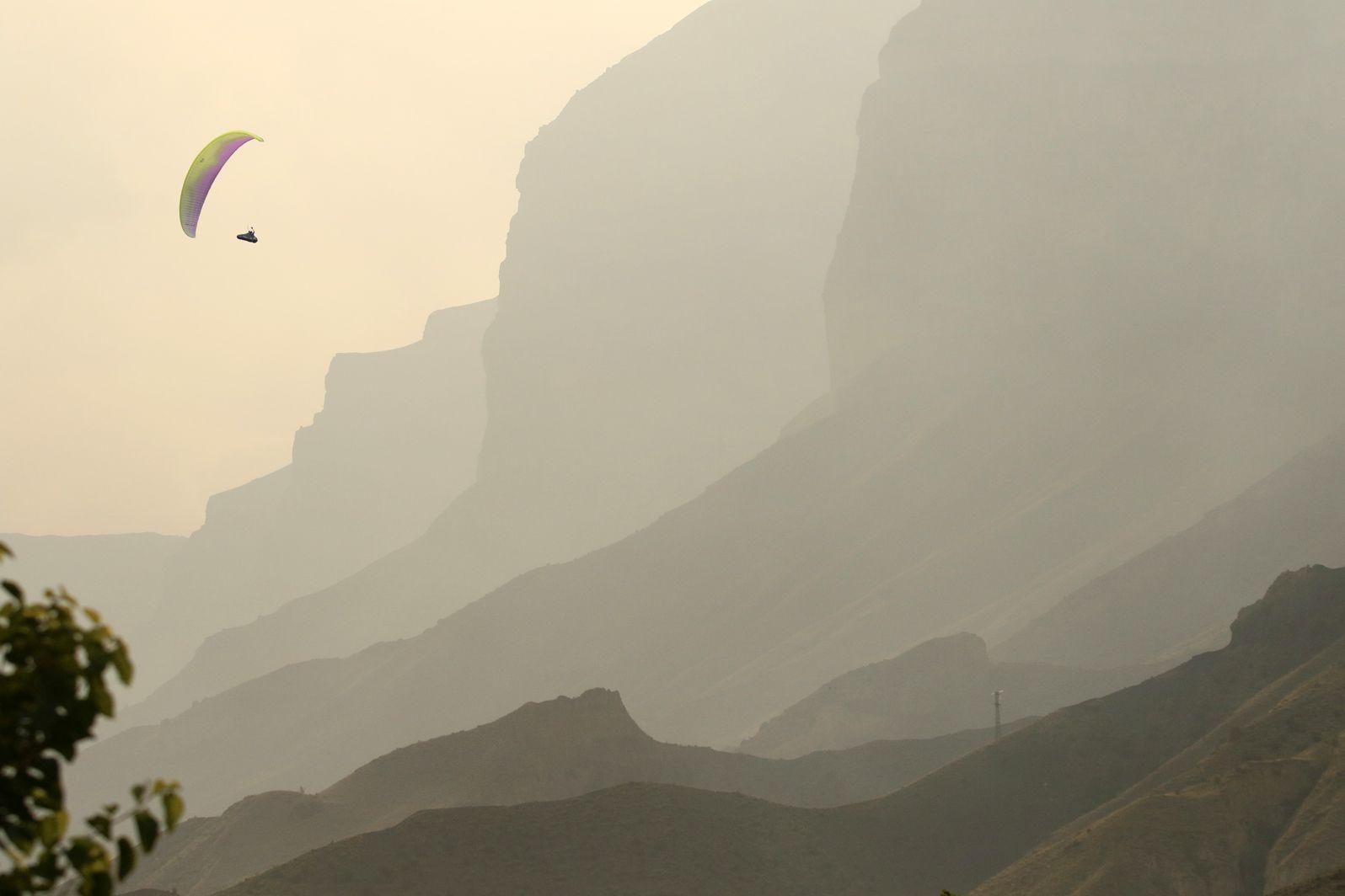 парапланеристы,природа,горы,дагестан,кавказ,северный кавказ, Magov Marat