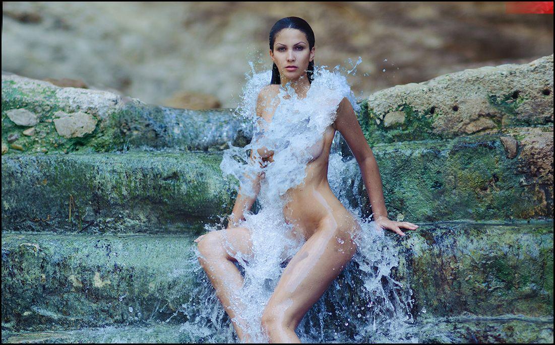 water, cascade, waterfall, Andrew Lucas