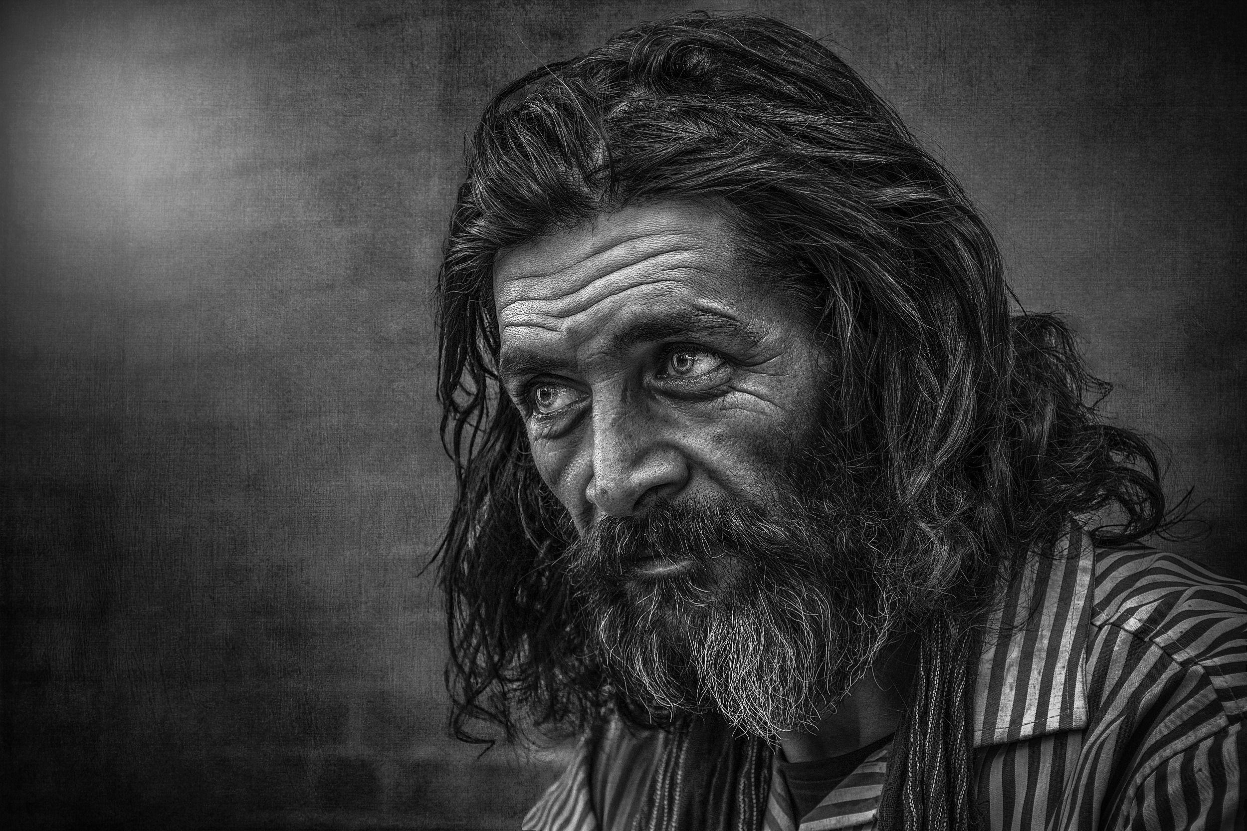 #people, #portrait, #bread, #look, #face, #skin, #dark, #human, Zavvar Mehdi