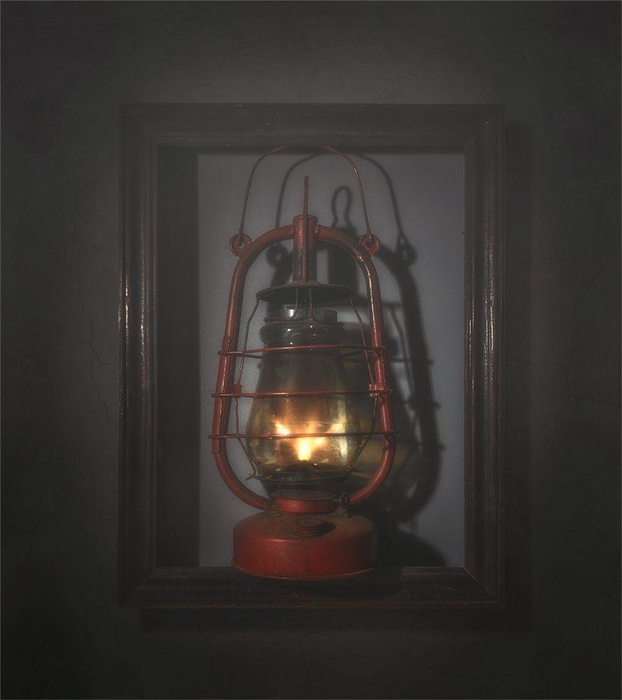 still life, натюрморт, винтаж, керосиновая лампа, минимализм, рамка,, Шерман Михаил