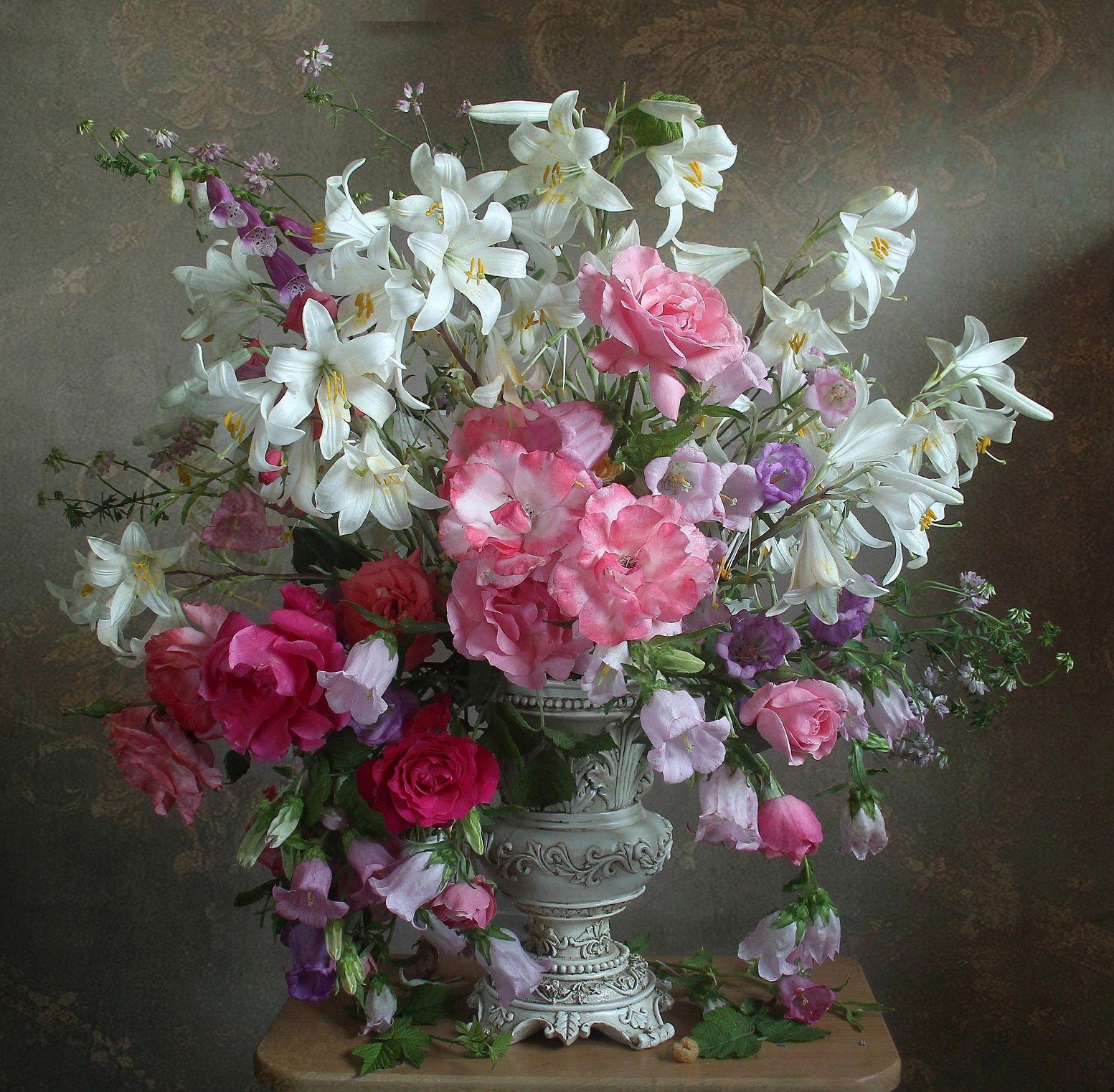 лето,  цветы, натюрморт, марина филатова, Филатова Марина