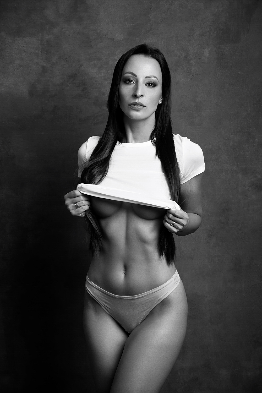 model, fine art, sexy, sensual, black and white, woman, female, body, erotica, glamour, curves, portrait, beautiful, fashion, lingerie, portrait, Lajos Csáki