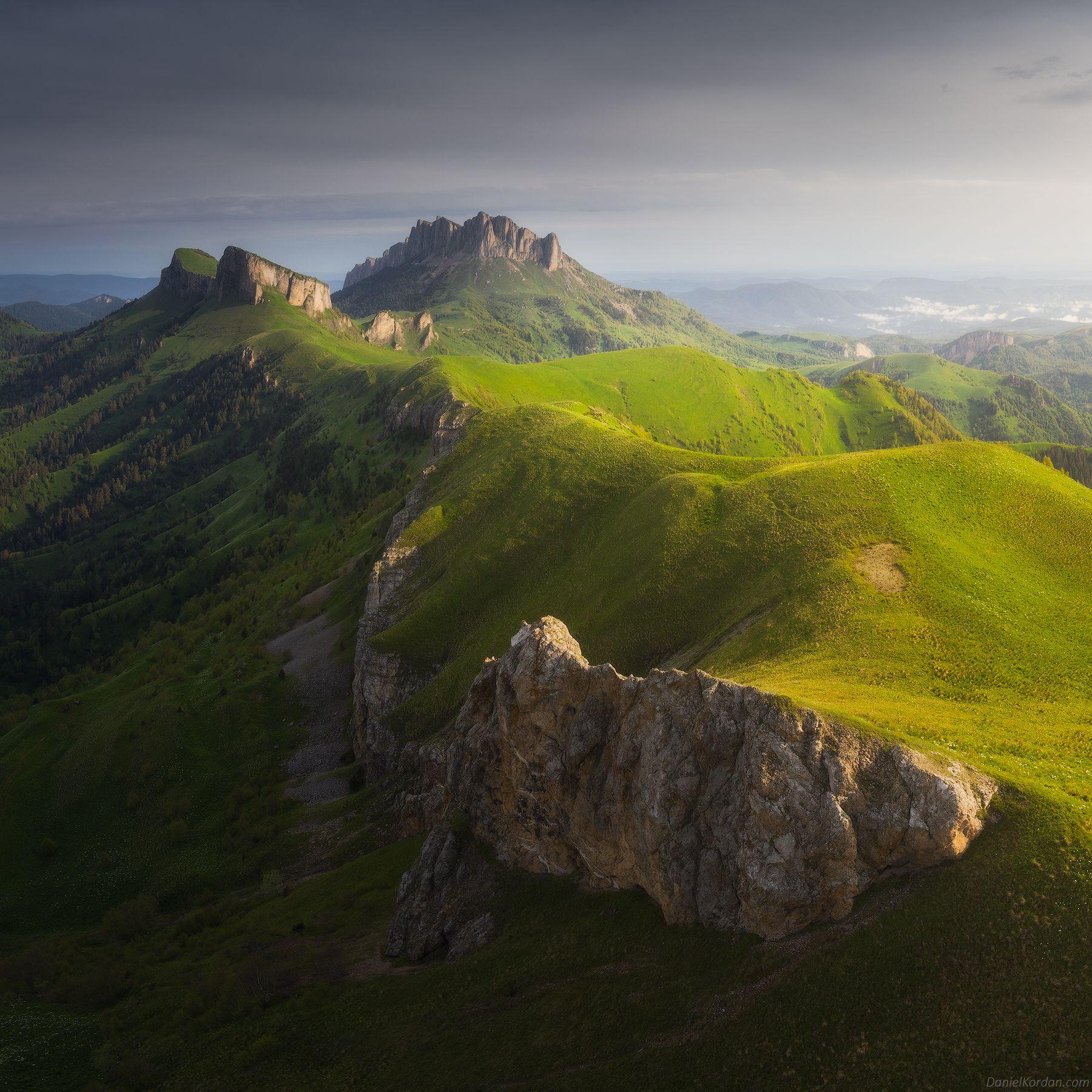 Кавказ, Адыгея, Тхач, Тхачи, Даниил Коржонов