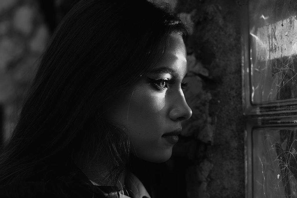девушка, чб, портрет , Tkachenko Anastasia