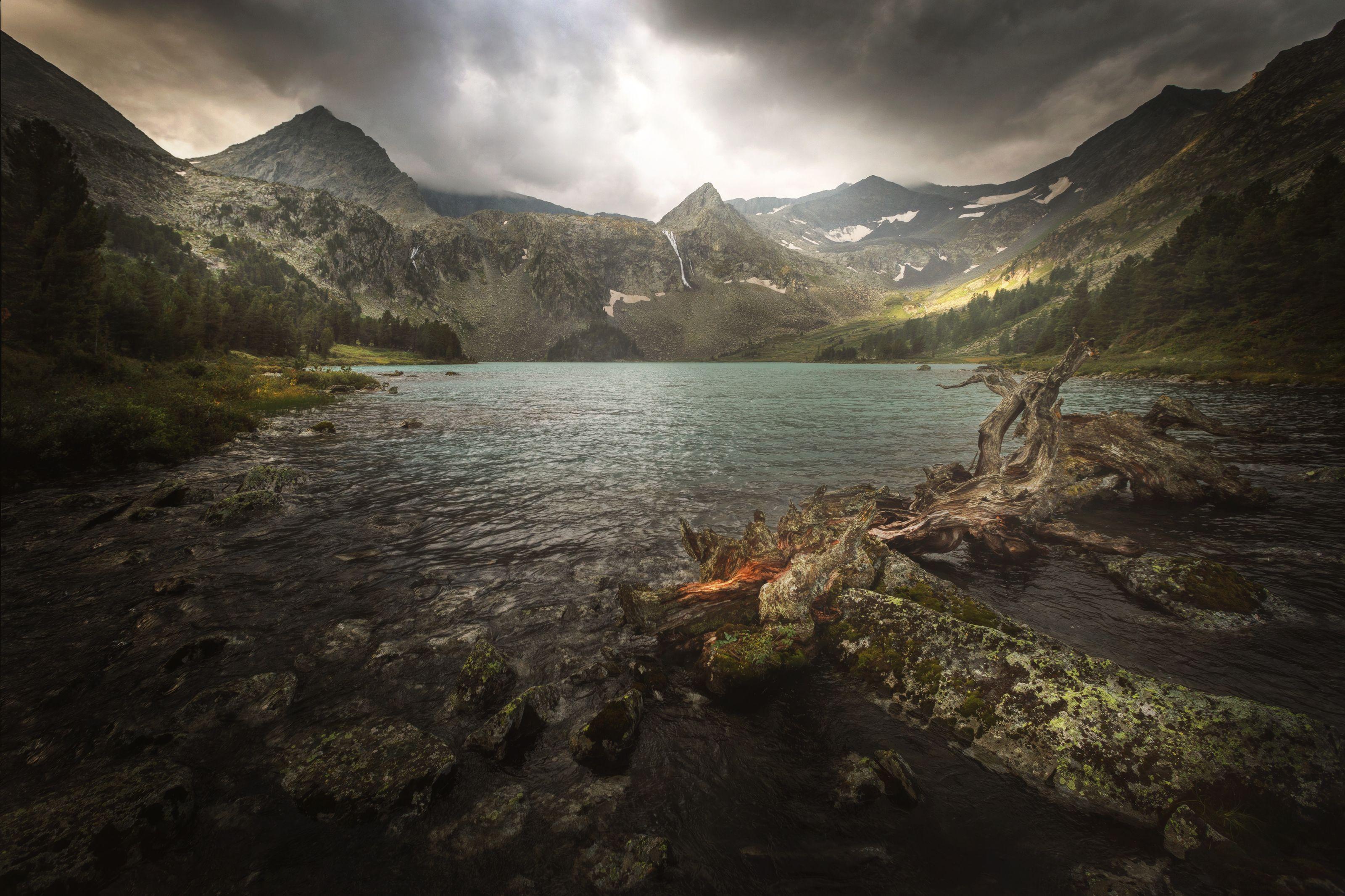 алтай, озеро, горы, лес, природа, закат, рассвет, красота, приключения, путешествие, Шевченко Николай