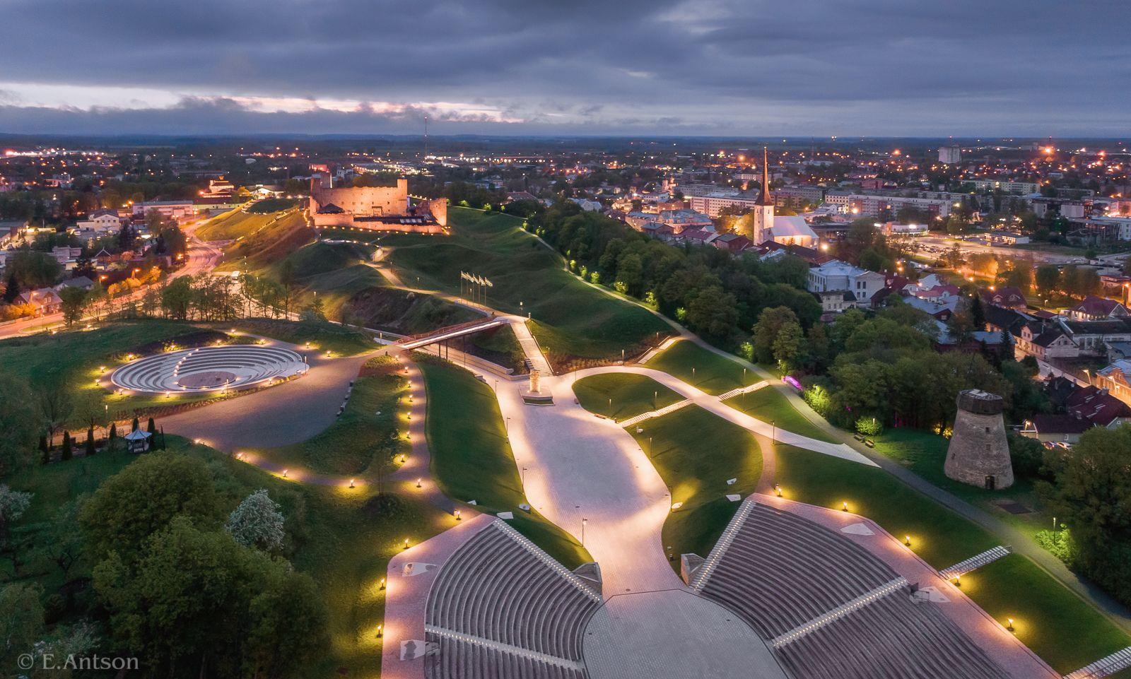 город, архитектура, эстония, Antson Elvis