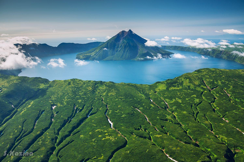 онекотан, пейзаж, курильские острова, камчатка, аэрофотосъемка, путешествие, travel, океан, тихий океан, kurile islands, onekotan, Светлана Казина