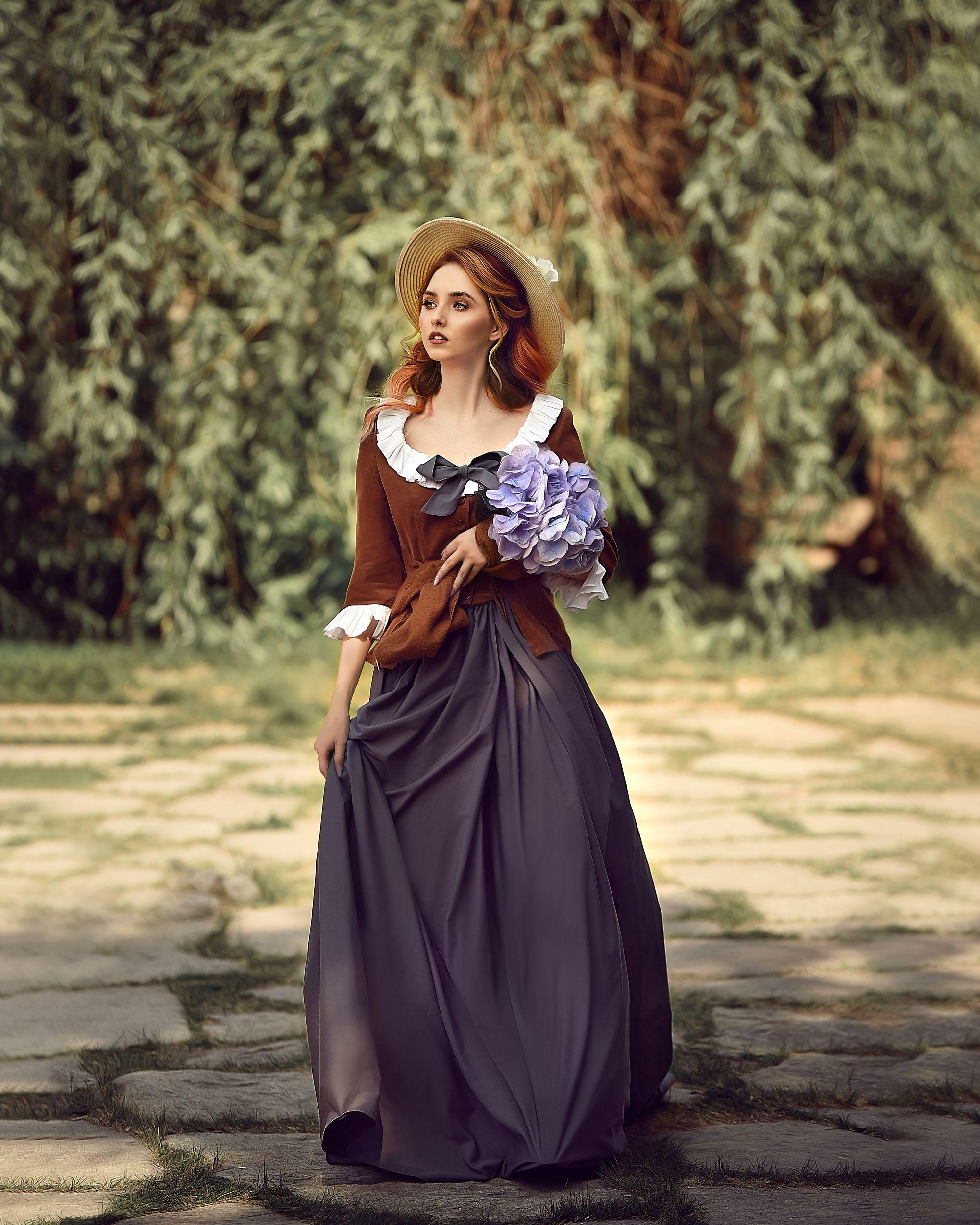 Девушка в шляпе, Свитенькова Елизавета