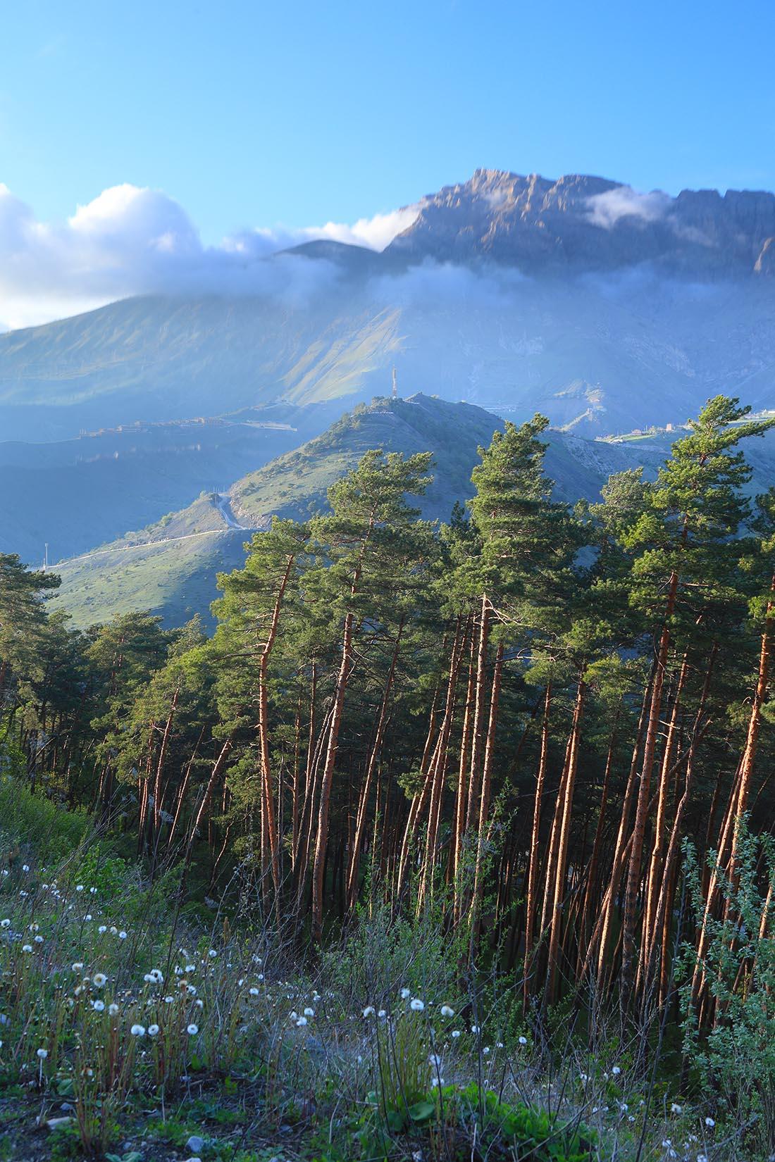 Столовая гора, Ингушетия, Кавказ, Армхи, Борис Резванцев