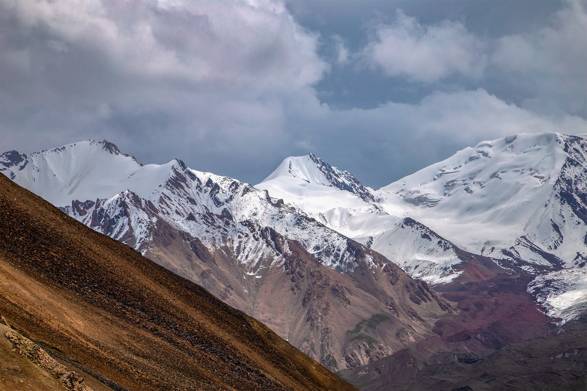 кыргызстан, горы, памиро-алай, Магалимова Элина