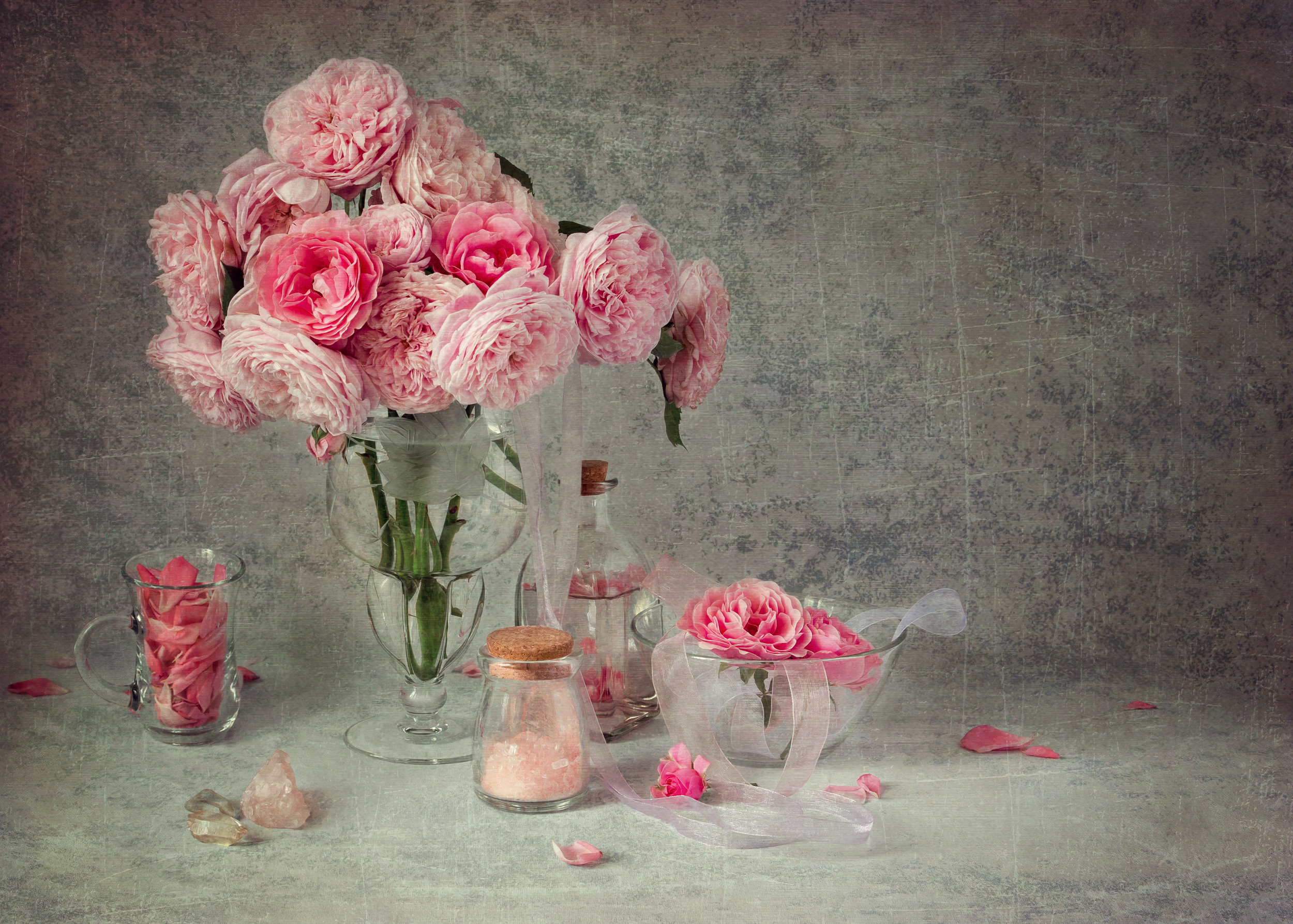 натюрморт, розы, цветы, винтаж, шебби, Коцарева Ольга