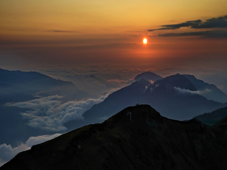 горы закат, Никишин Евгений