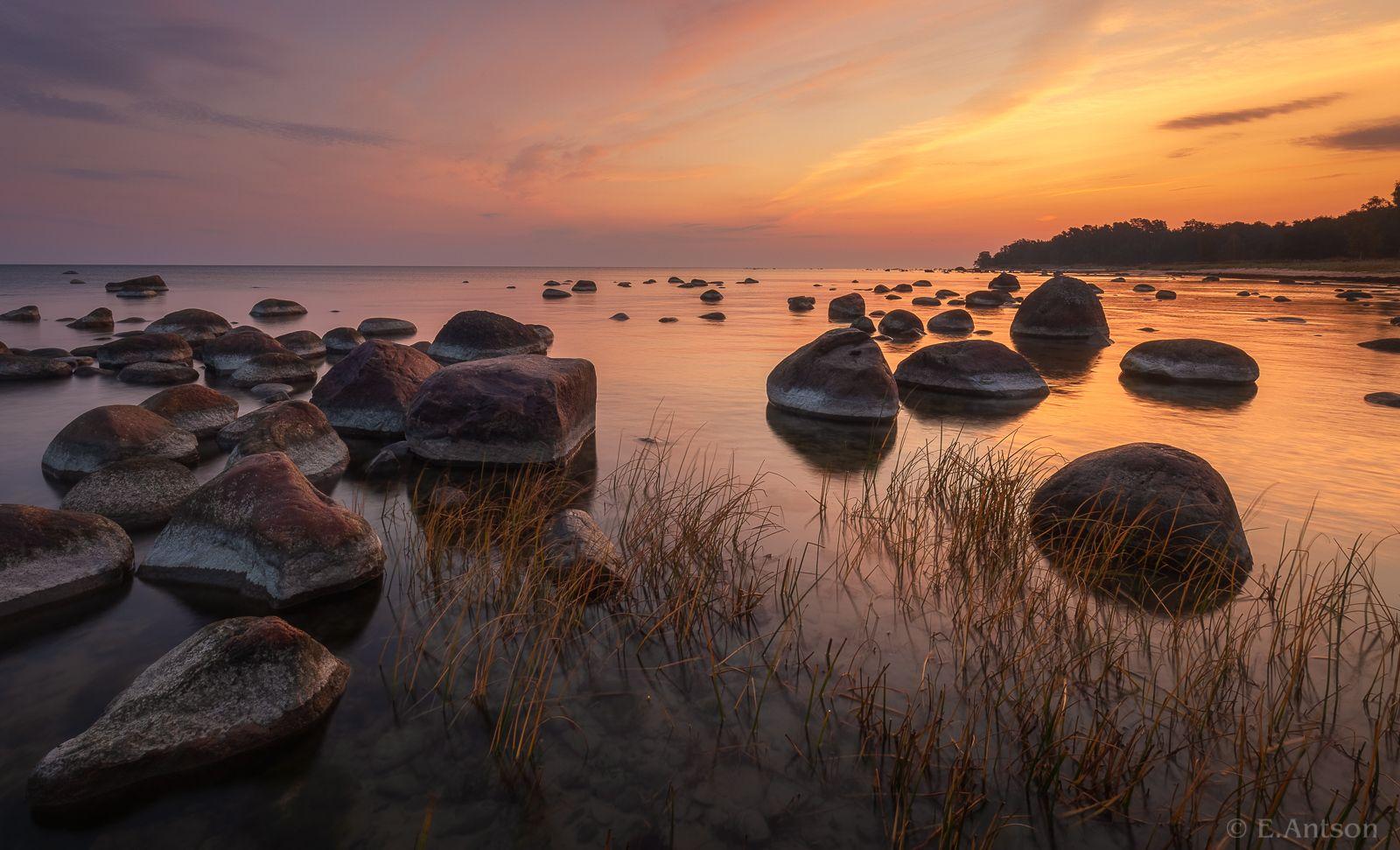 пейзаж, природа, море, эстония, Antson Elvis