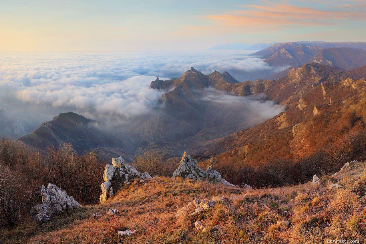Горы, Крым, Рассвет, Фото Псарёва Михаила, Михаил Псарёв
