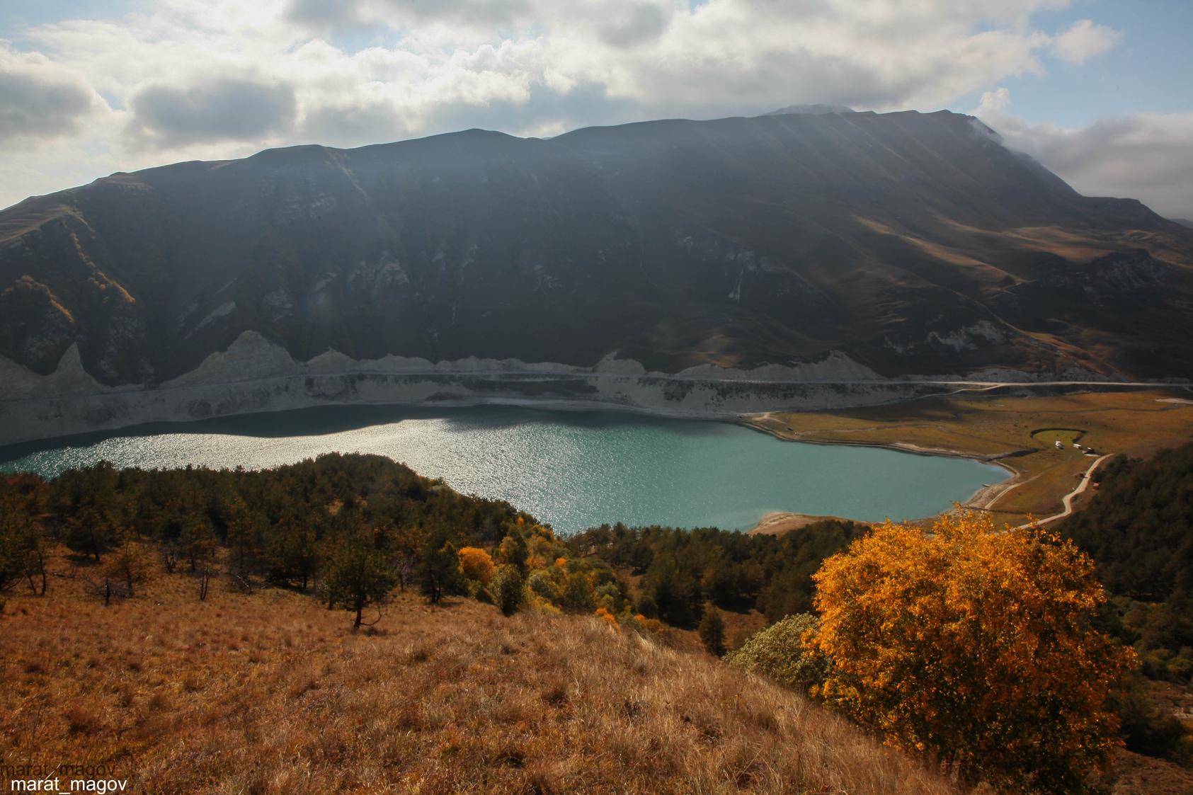 казеной ам,озеро,дагестан,чечня,, Magov Marat