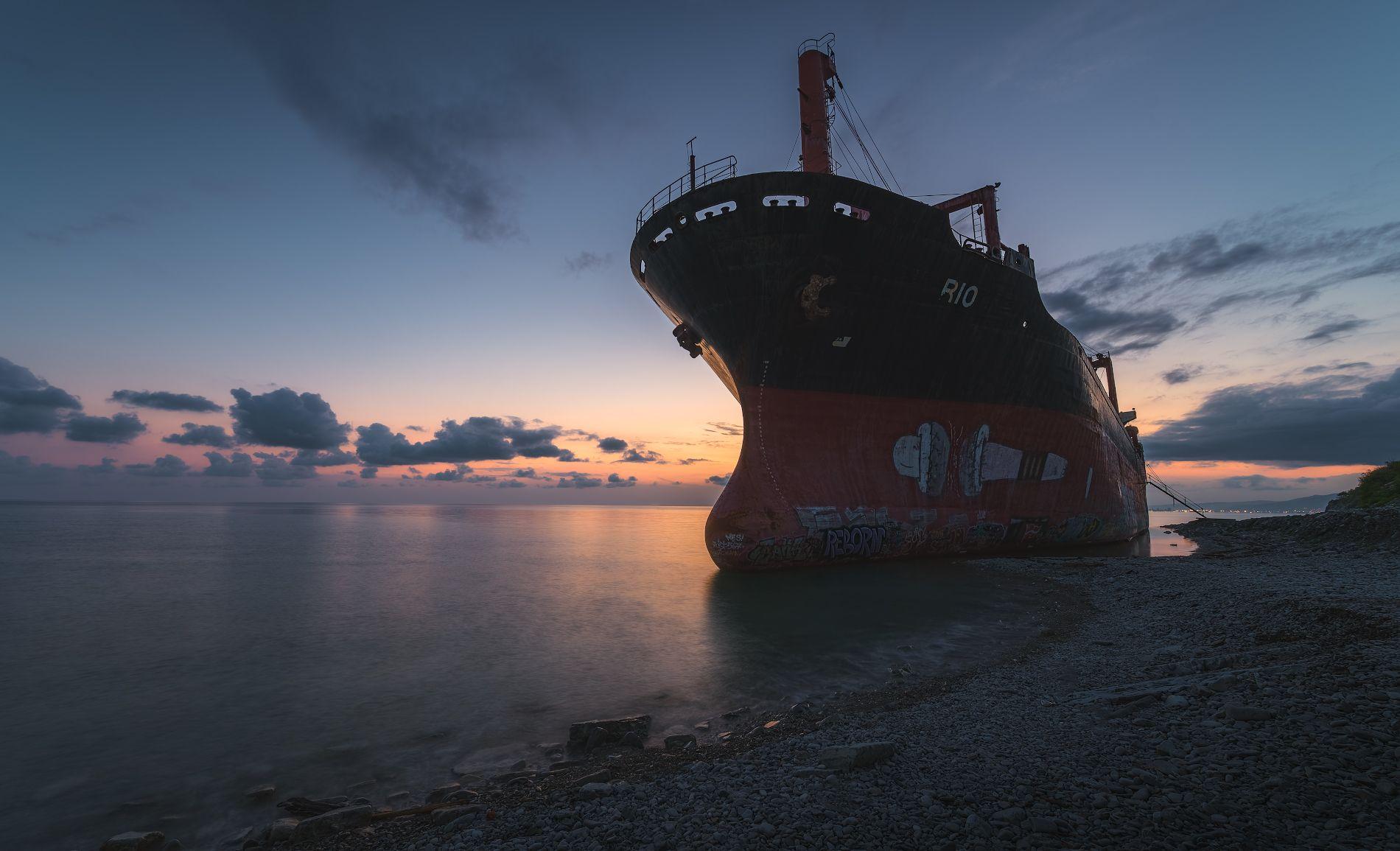 закат, море, рио, Левыкин Виталий