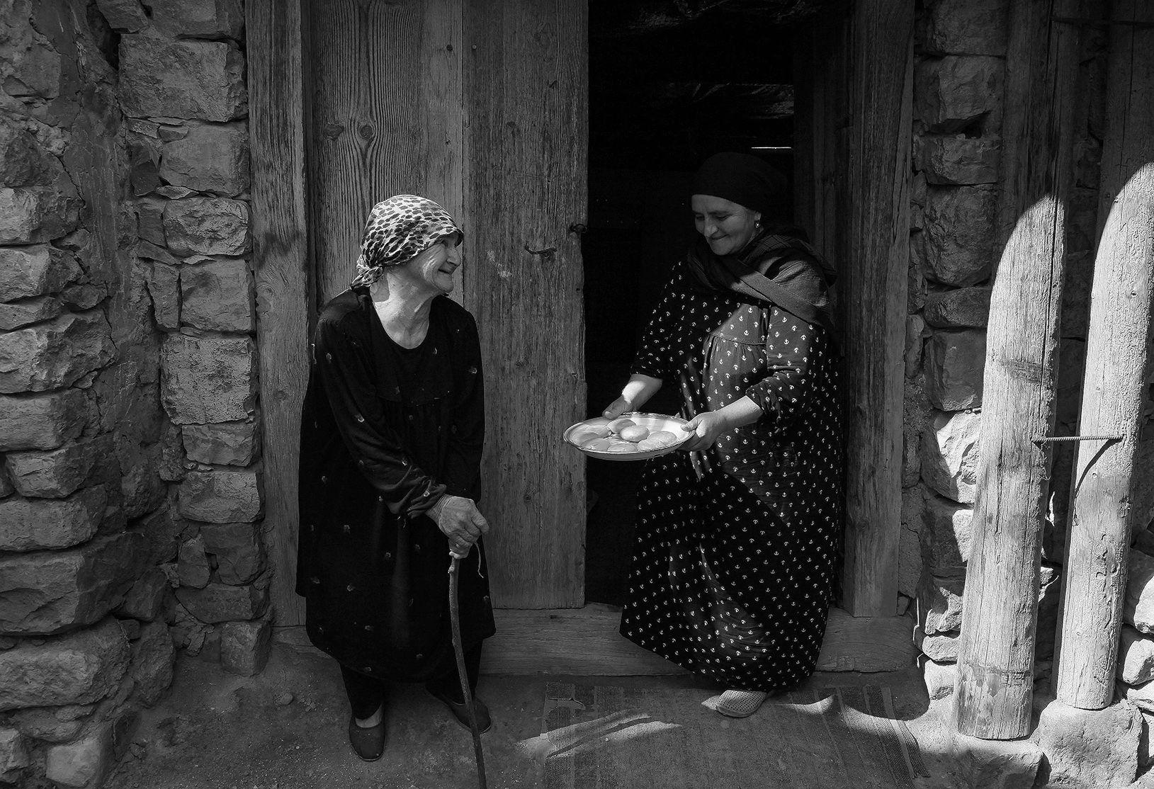 аул,бабушка,люди,село,дагестан,тлох,ботлихский район,, Magov Marat