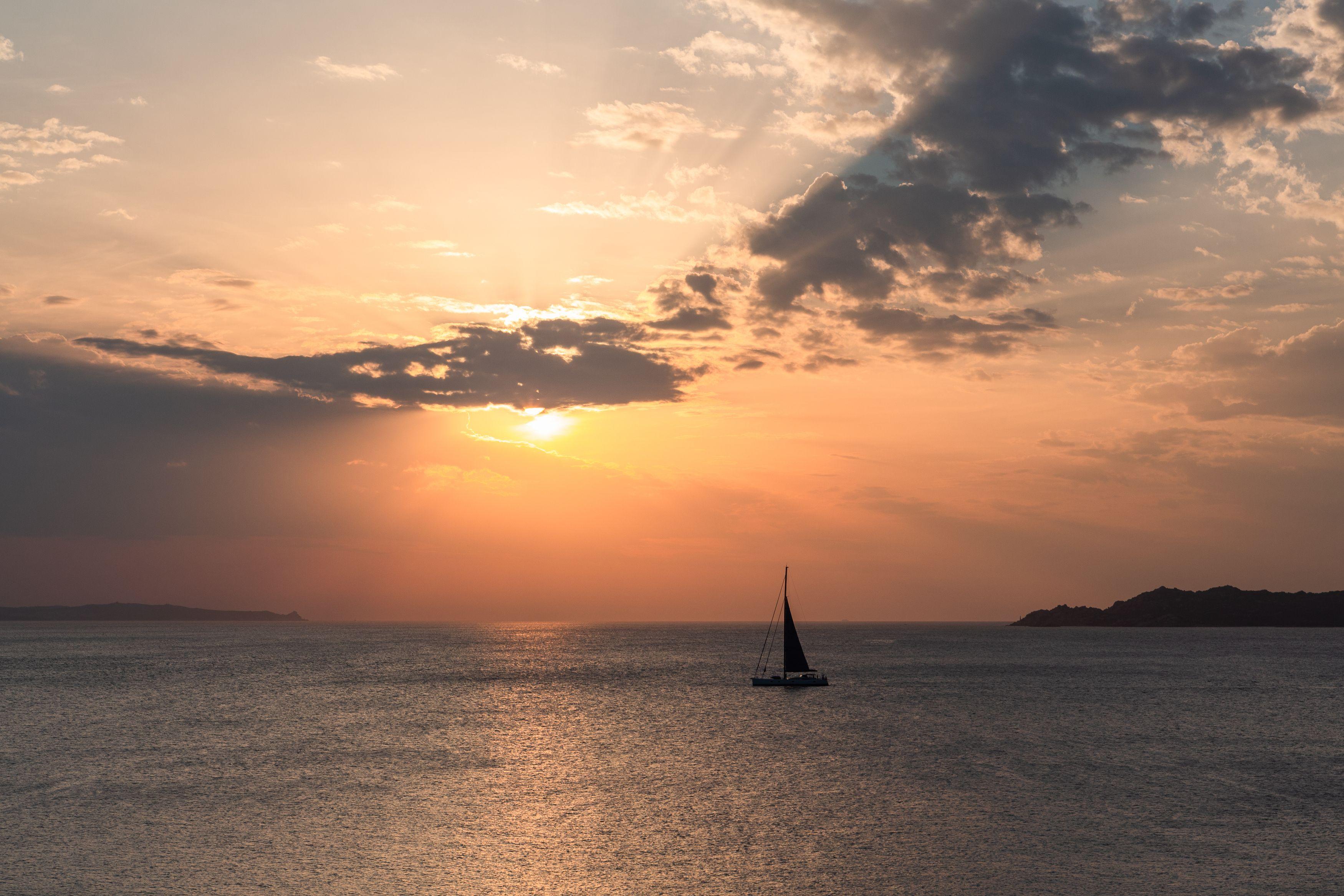 sardegna,italy,mediterranean,sailing,sunset,sardinia,, Zilbalodis Eriks