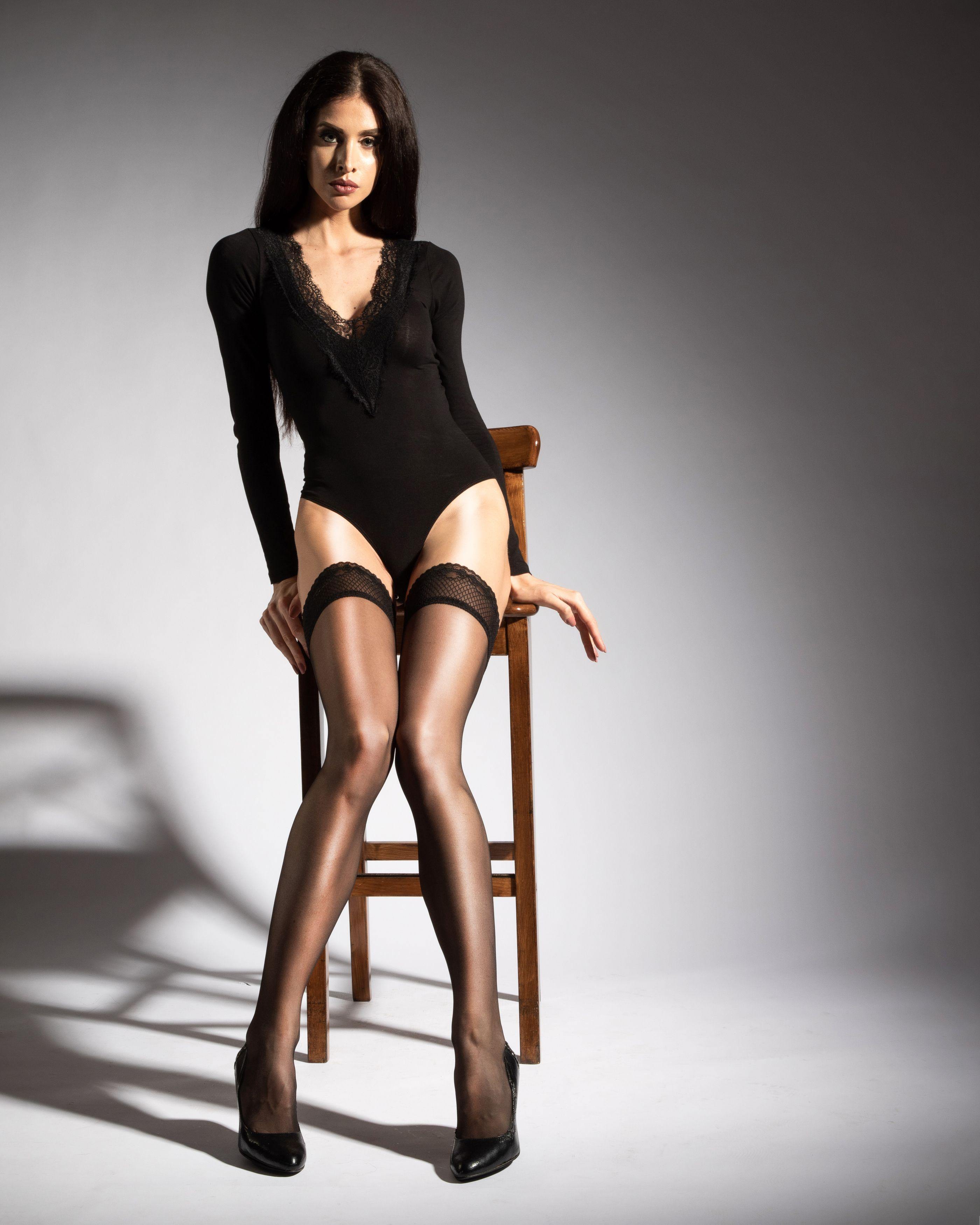 девушка,красивая,боди,чулки, Дмитрий Александров
