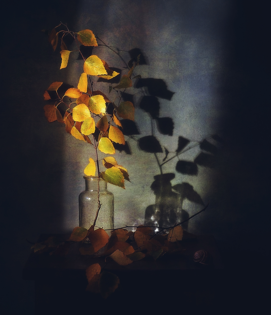 натюрморт,композиция,осень,тень,веточка, Наталия К