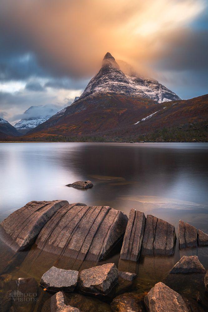 innerdalen,lake,mountain,trollheimen,norway,norwegian,long exposure,rock,shoreline,coast,, Szatewicz Adrian