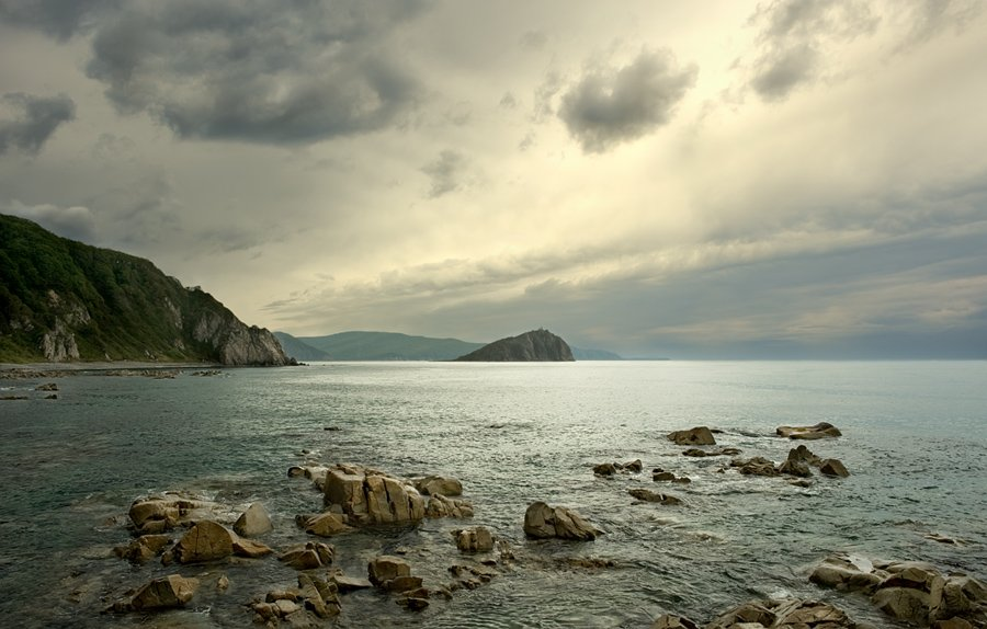 море, дождь,, Igor Nelinov