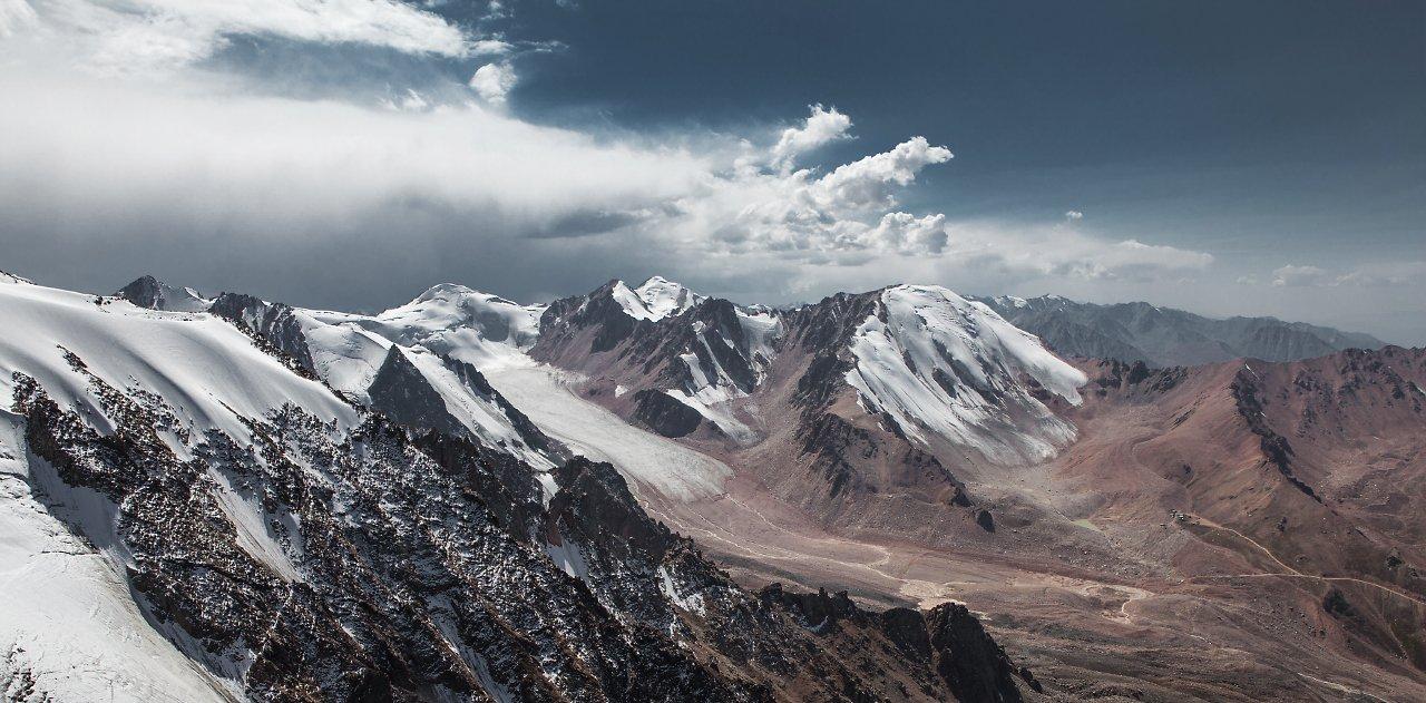 Almaty, Climbing, Clouds, Glacier, Kazakhstan, Mountains, Sky, Trekking, Anton Akhmatov