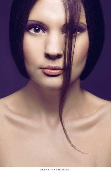 Beauty, Face, Fashion, Violet, Woman, Матросова Даша