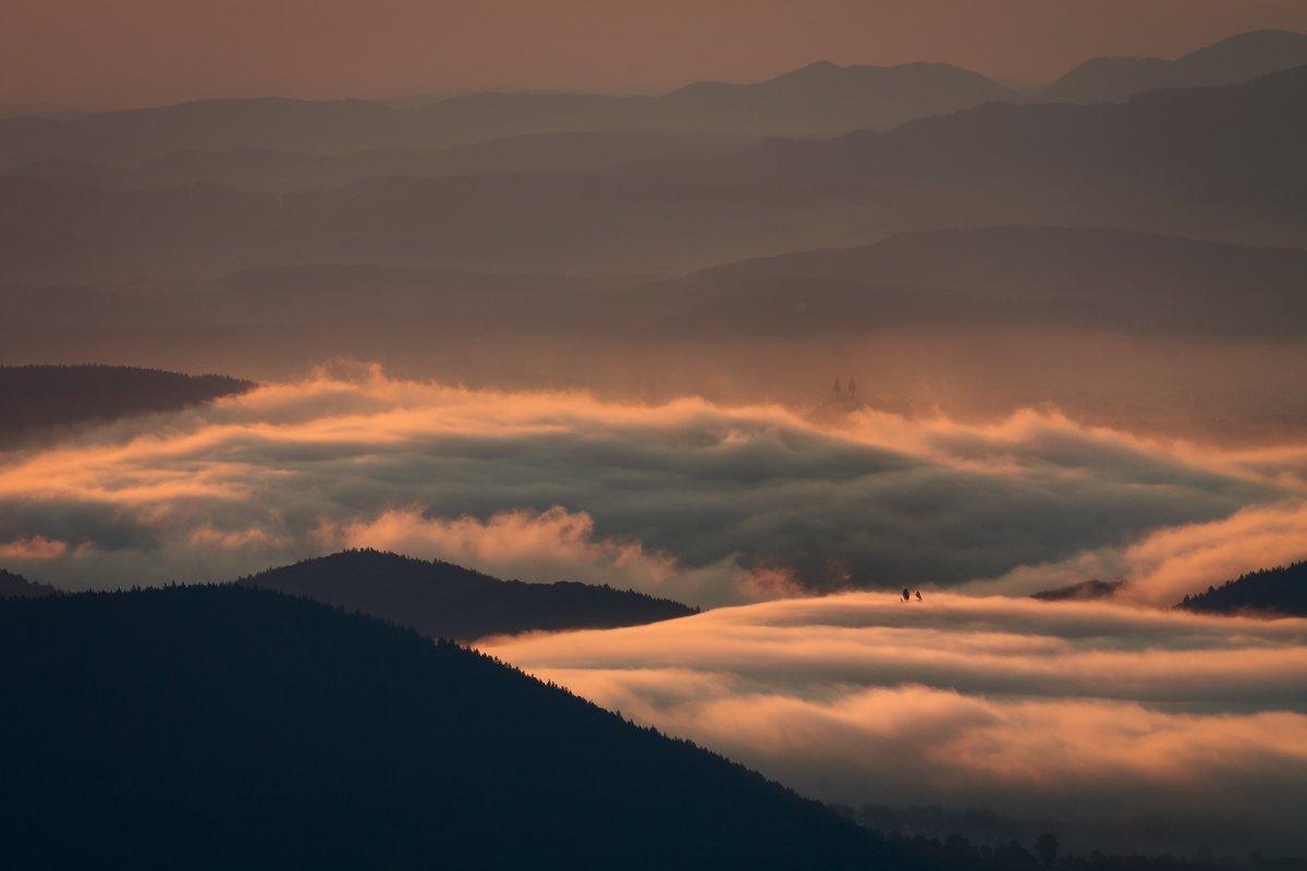 Canon, Landscapes, Mist, Mountains, Poland, Iza,Darek