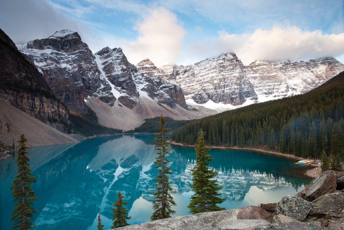 Canada, Canadian Rockies, Lake, Moraine, Алексей Самарин