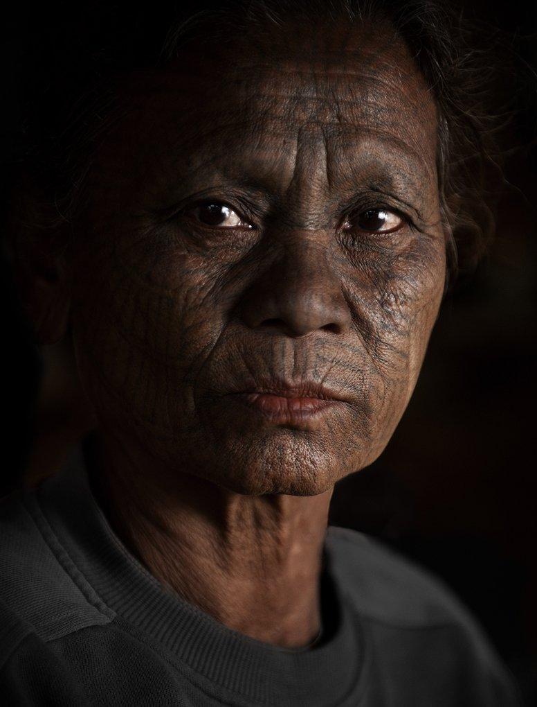 Asia, Birma, Grandmother, Granny, Light, Myanmar, Old, Portrait, Woman, Women, Tomek Jungowski