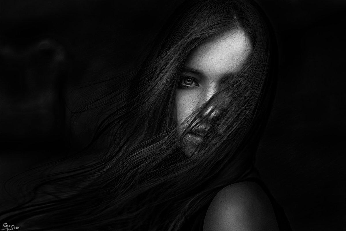 Black and white, Portrait, Портрет, Ч/б, Чб, Георгий Чернядьев